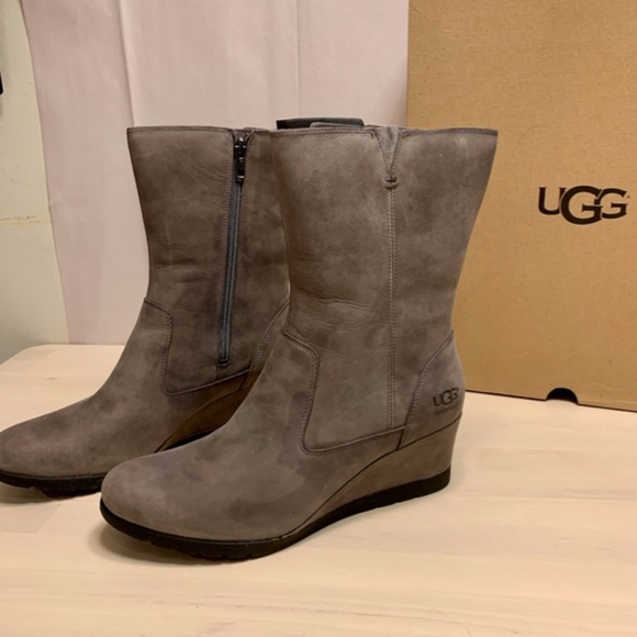 4aae1bbe25a Brand New UGG Joely Waterproof Boot Charcoal NWT